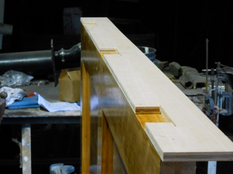 Conall S Boat Build Salon Passage Door Completion