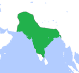 akbar samrajya map india