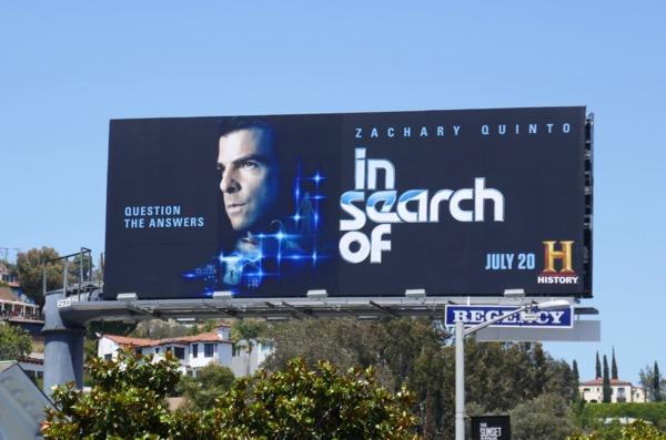In Search Of series premiere billboard