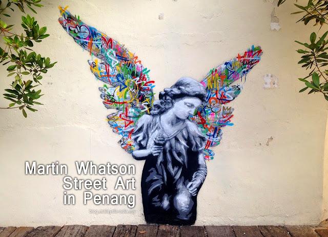 Martin Whatson Penang Street Art