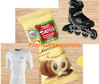 Logo Cornetto Mulino Bianco ti fa vincere decine di premi: Rollerblade e magliette Lycra