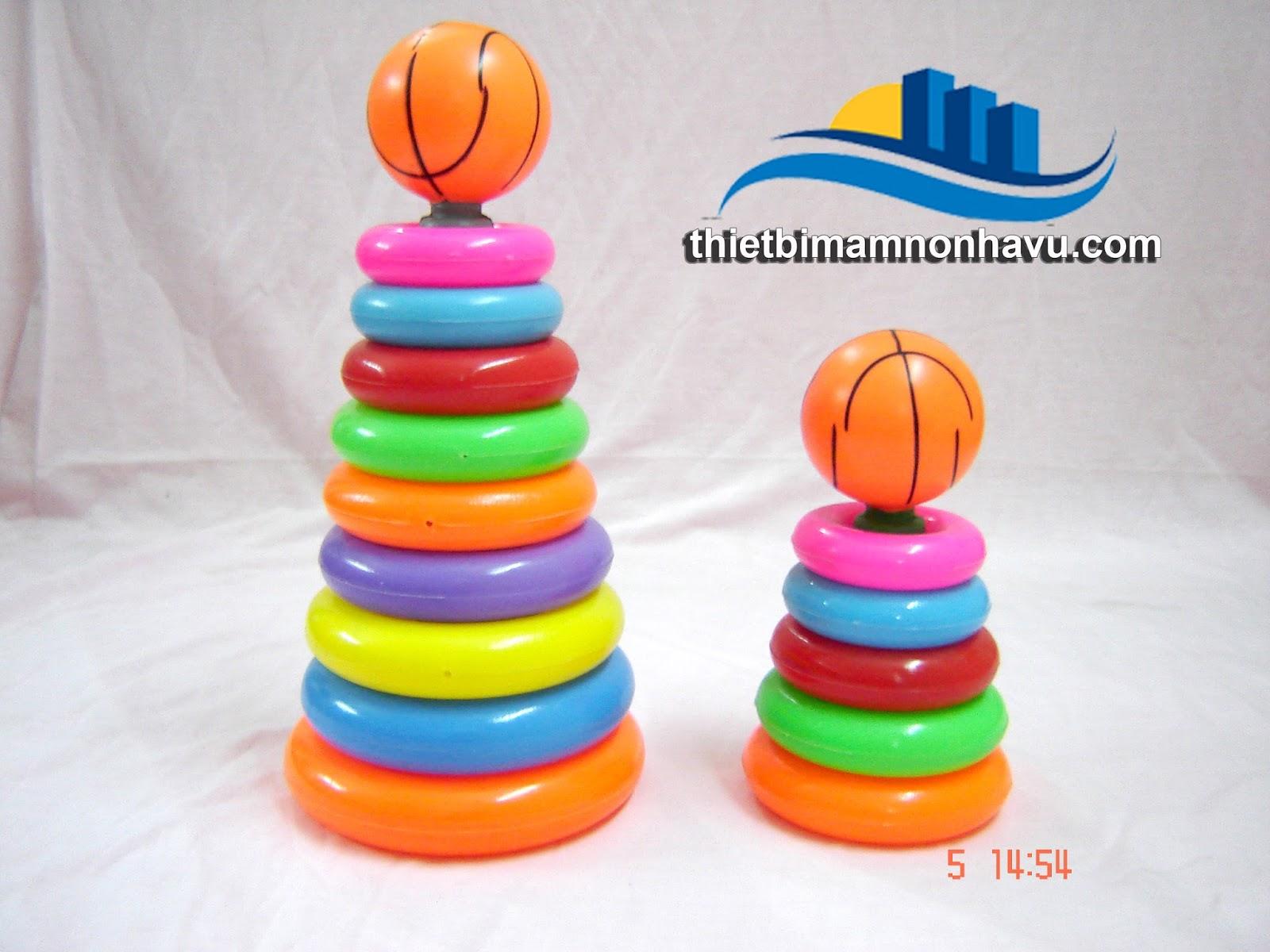 Bộ đồ chơi hề tháp