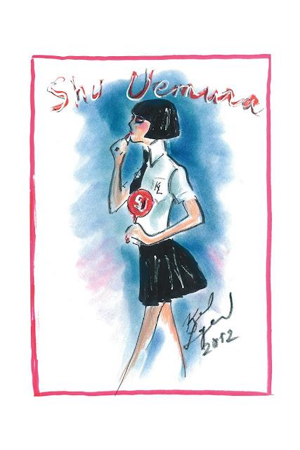 STATKIX - KARL LAGERFELD FOR SHU UEMURA 2012