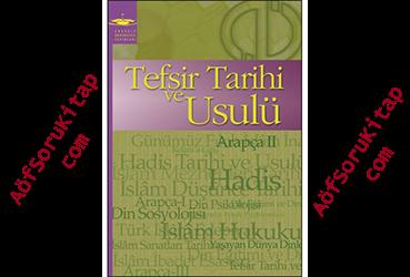 aöf, aöf ilahiyat, aöf ilahiyat Tefsir Tarihi ve Usulü kitabı,Tefsir Tarihi ve Usulü indir, Tefsir Tarihi ve Usulü kitabı pdf indir, Aöf ders kitapları,Tefsir Tarihi ve Usulü öğrenmek, Tefsir Tarihi ve Usulü nasıl öğrenilir, Tefsir Tarihi ve Usulü yardımcı kitabı, Tefsir Tarihi ve Usulü dersleri, ilahiyat arapça dersi ,Tefsir Tarihi ve Usulü