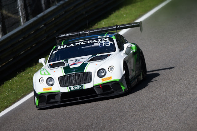 The #8 Bentley Continental GT3