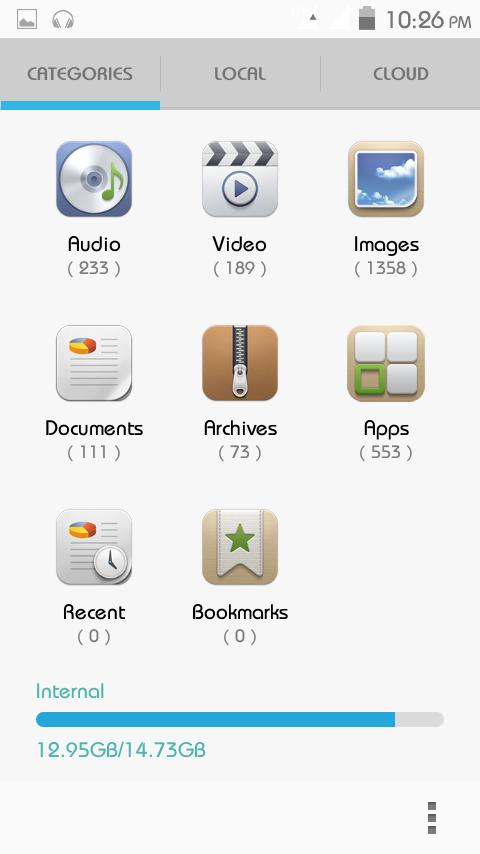 symphony w72 apps
