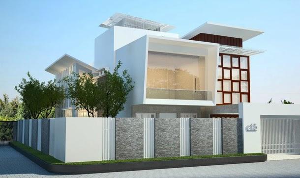 model rumah minimalis terbaru 2 lantai