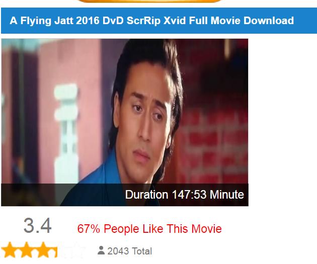 True Life Base Hearttouching Line A Flying Jatt 2016 Full Movie