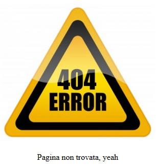 Personalizzare 404 Error Wordpress: Pagina non trovata