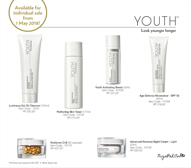 Youth Shaklee Available for individual sale 1 May 2018