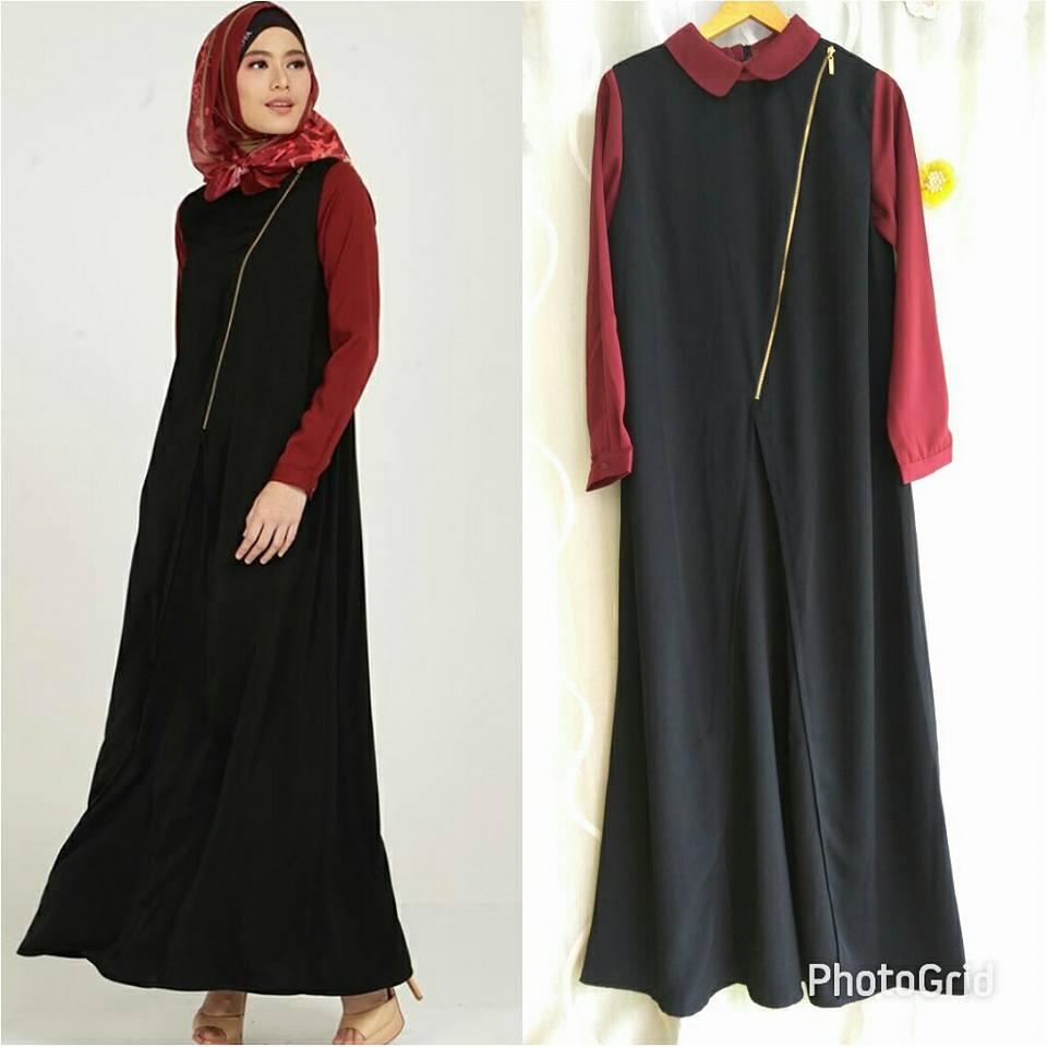 Galeri Azalia Toko Online Baju Busana Muslim Modern Clarissa Dress