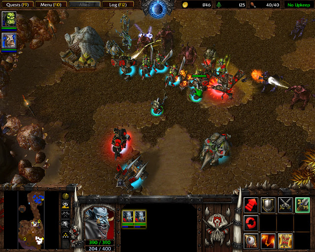 Where Wyverns Dare Mission 25 | Combat Screenshot | Warcraft 3: Reign of Chaos