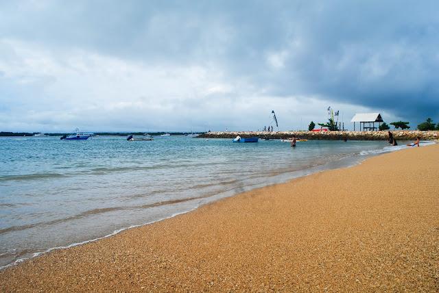 Mertasari beach