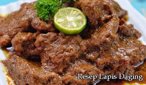 Resep Simple Lapis Daging Jawa Timur Dijamin Mantap