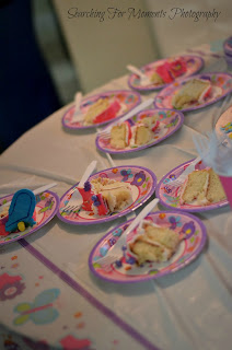 Turning Mommy first birthday butterfly pink and purple theme - photo by searching for moments
