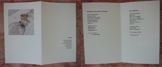 Making Handmade Books: Layout for Word Processing a Poetry Book