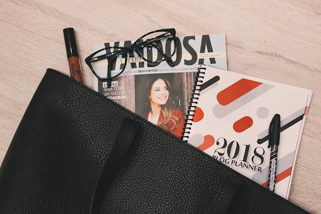 O blog Fashion Mornings está a oferece um Blog Planner para 2018