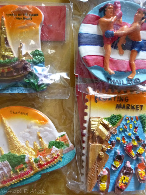 Thailand souvenir - Bangkok themed ref magnets