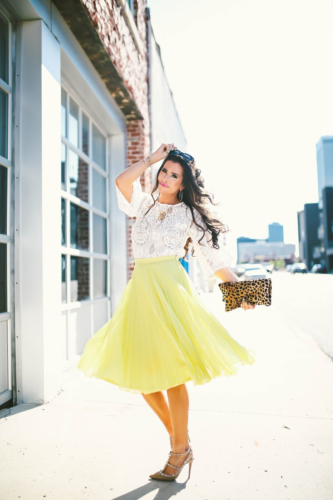 "27b88b83ca39 23 thoughts on ""Pleated Chartreuse Midi Skirt"""