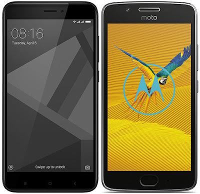 Xiaomi Redmi 4X 32G vs Motorola Moto G5 (2 GB RAM)