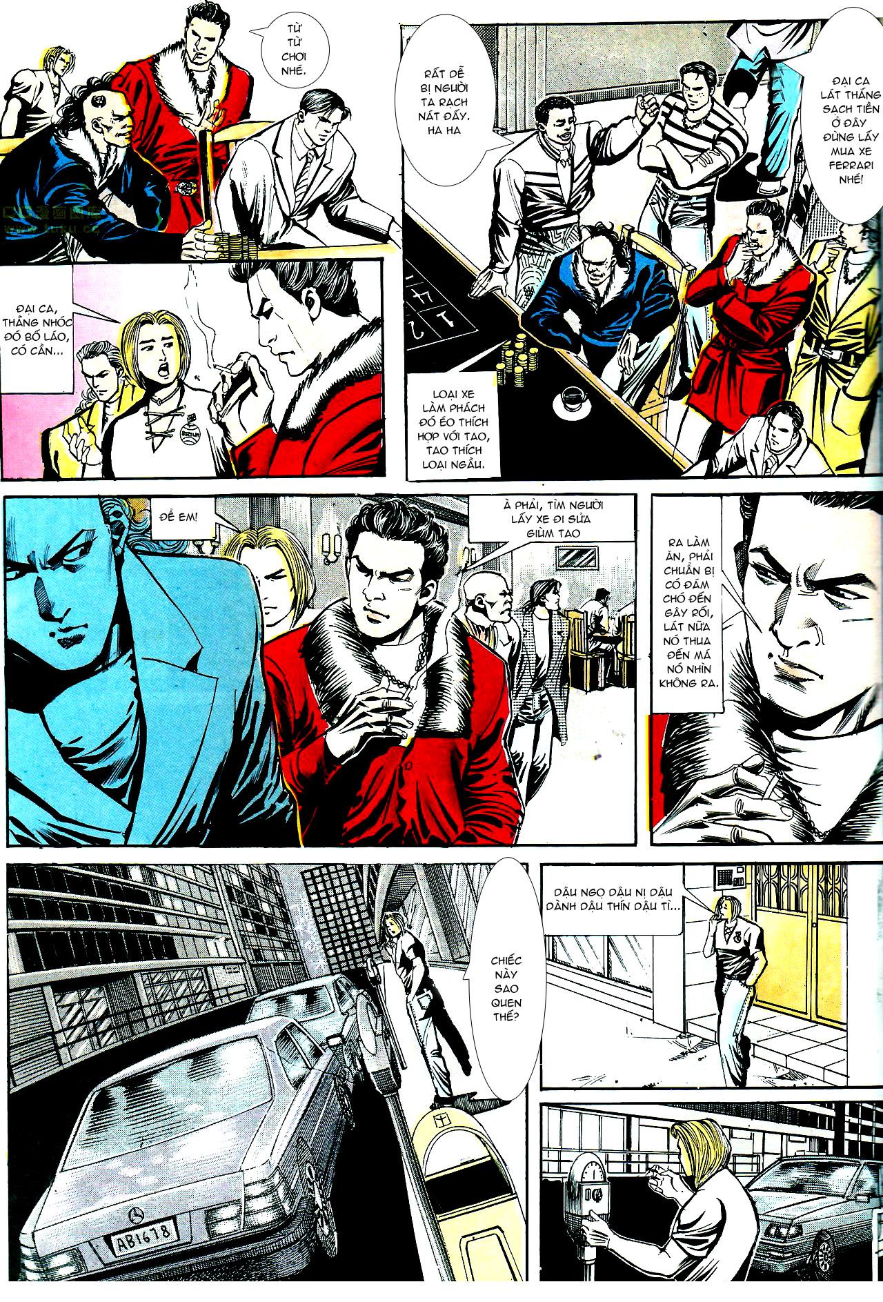 Người Trong Giang Hồ chapter 153: xích mích trang 26