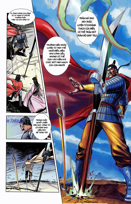 Tần Vương Doanh Chính chapter 10 trang 21