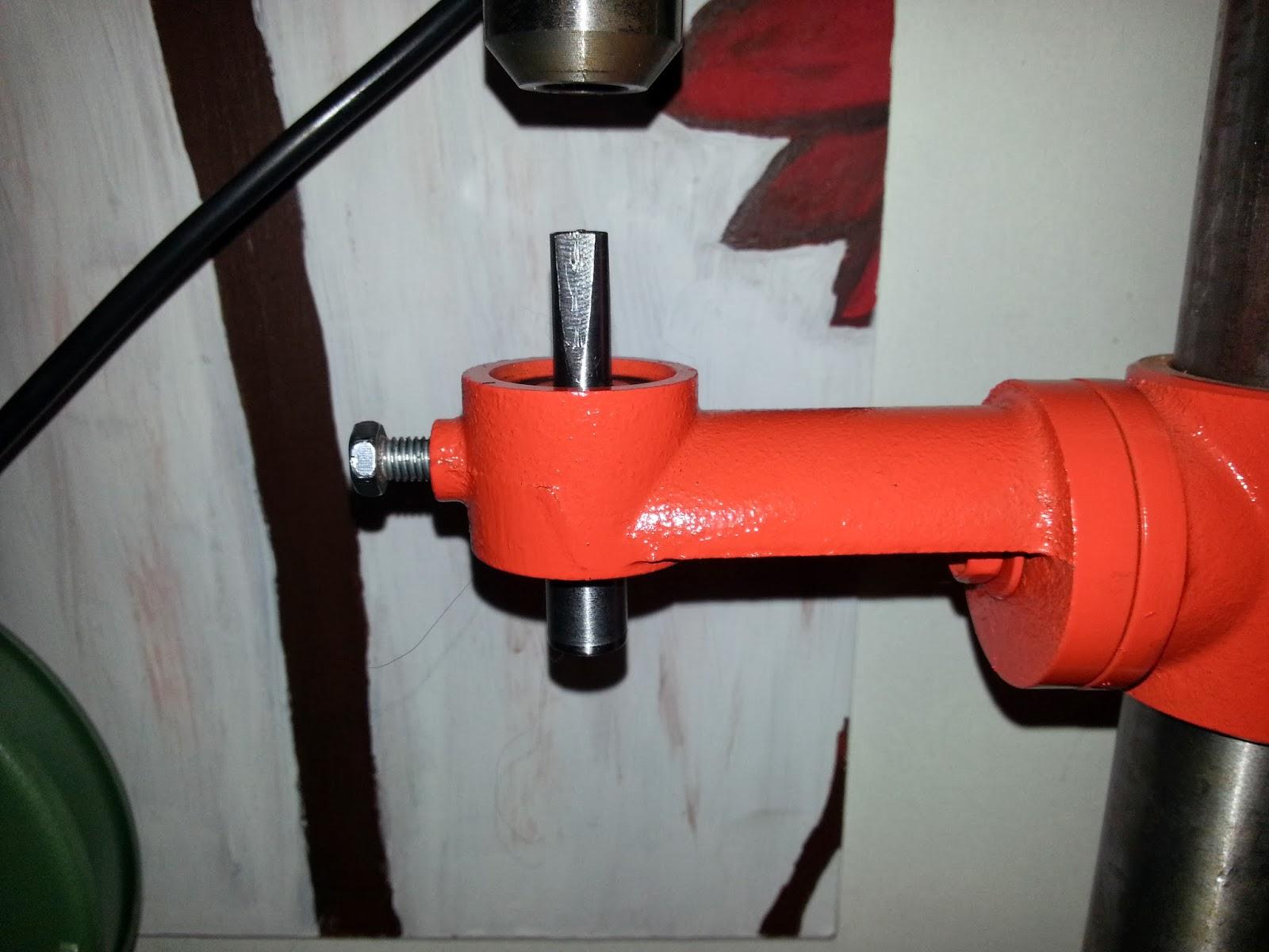 Pillar drill milling arm/ Brazo de fresado de taladro de banco