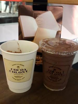 Cocoa Colony chocolate drinks