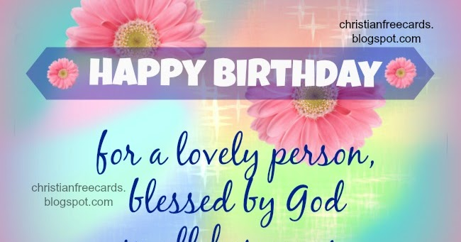 Happy Birthday Godmother Card: Happy Birthday For A Lovely Person