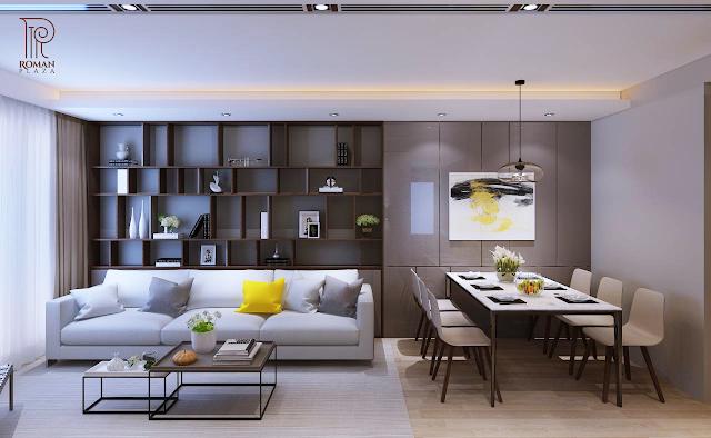 Thiết kế căn hộ tiện nghi đẳng cấp