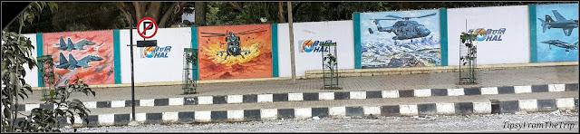 HAL murals, Bangalore.