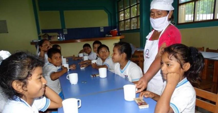 Qali Warma entrega nutritivos desayunos y almuerzos para escolares de comunidades nativas de Sepahua - www.qaliwarma.gob.pe