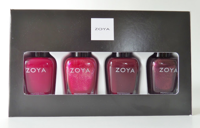 zoya all wrapped up polish quad
