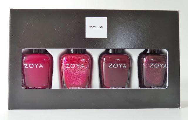 zoya all wrapped up polish quad