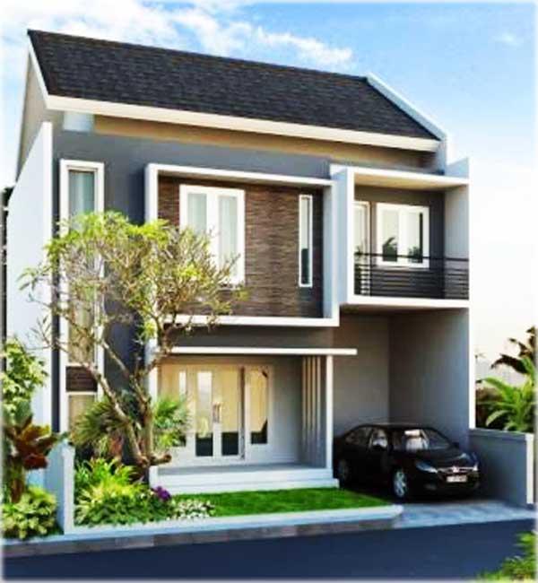 desain rumah minimalis 2 lantai sederhana tapi elegan