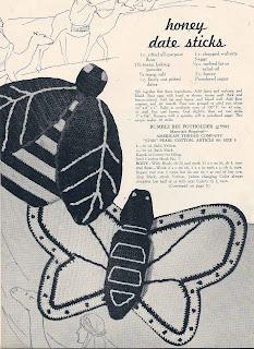 Crochet Butterfly Potholder Pattern