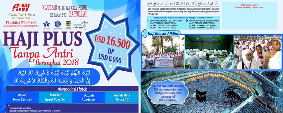 Haji Onh Plus Tanpa Antri 2018 Langsung Berangkat