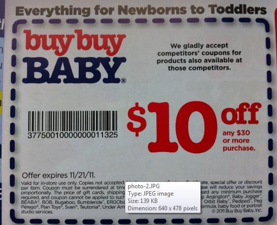Buy buy baby 20 coupon