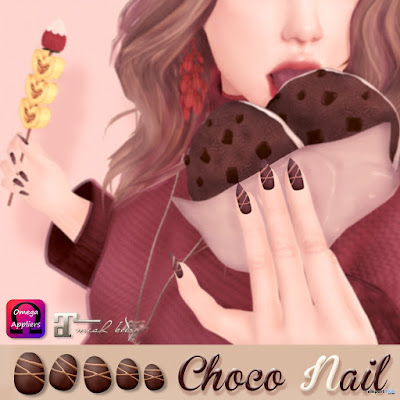 Chocolate Nails Group Gift by ASO! & Soothe.