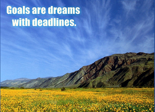 What are your Goals, dreams and deadlines for 2017