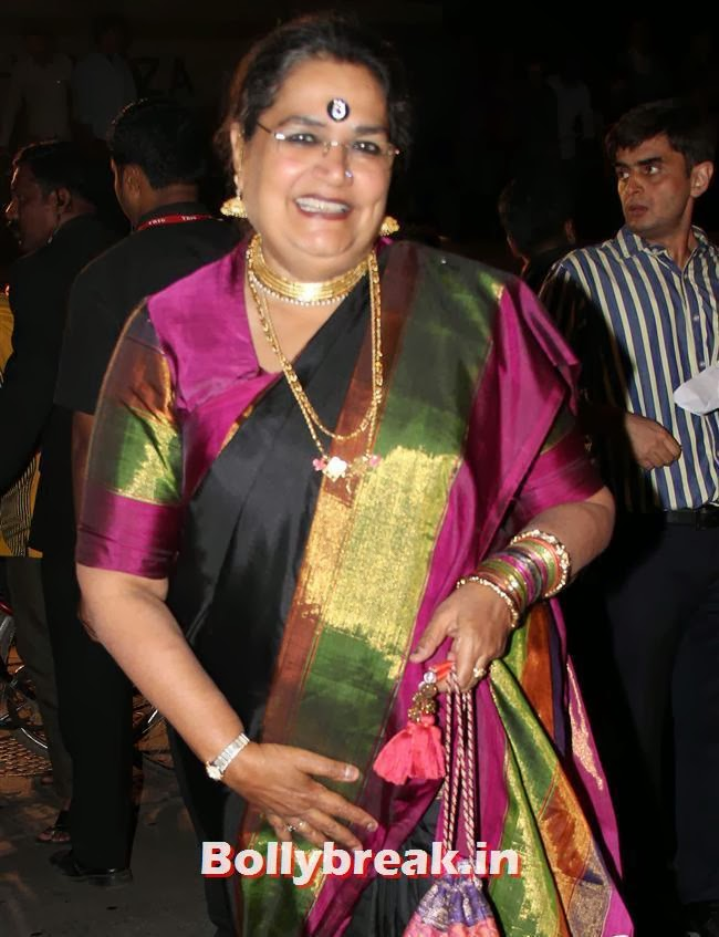 Usha Uthup, Filmfare Awards 2014 Red carpet Images