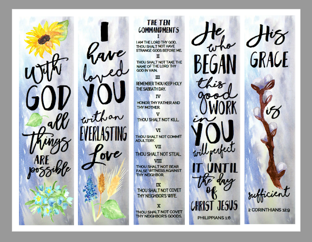 photo relating to Who I Am in Christ Printable Bookmark named Christian Analysis Resources: Totally free Bookmarks