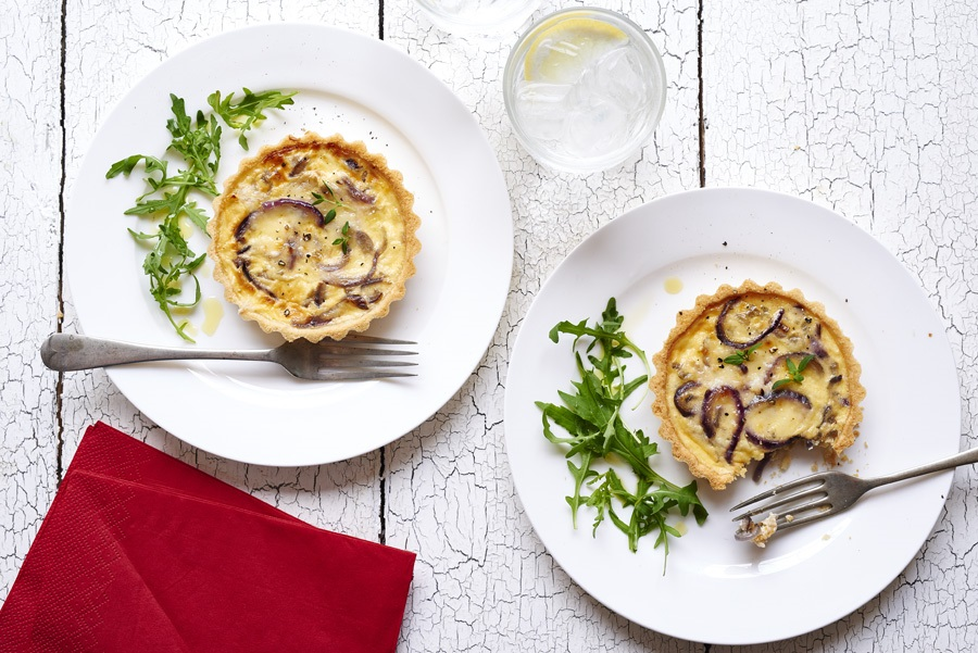 Mini Quiches: Great For Any Party Or Afternoon Tea