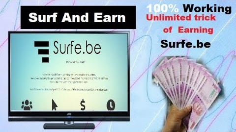 Kiếm tiền online bằng cách xem quảng cáo trên Surfe.Be