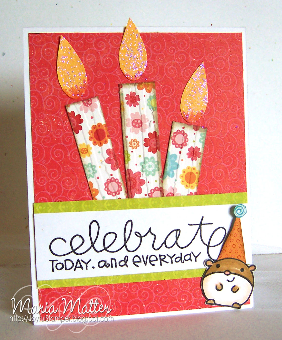 Joyful Stamper: Happy Birthday Jessi