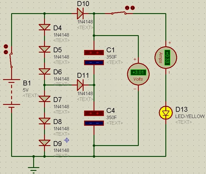 FAST CHARGING PORTABLE POWER SUPPLY USING SUPER CAPACITOR AS