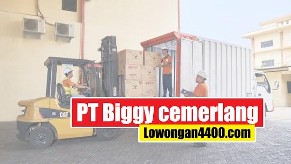 Lowongan Kerja PT. Biggy cemerlang Jakarta Utara