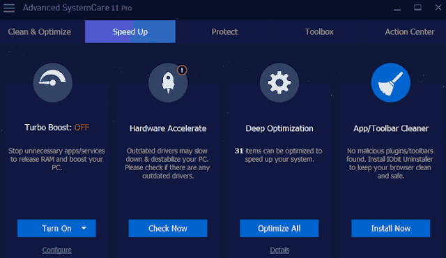 Download Iobit Advanced SystemCare Pro 11 Gratis License Key