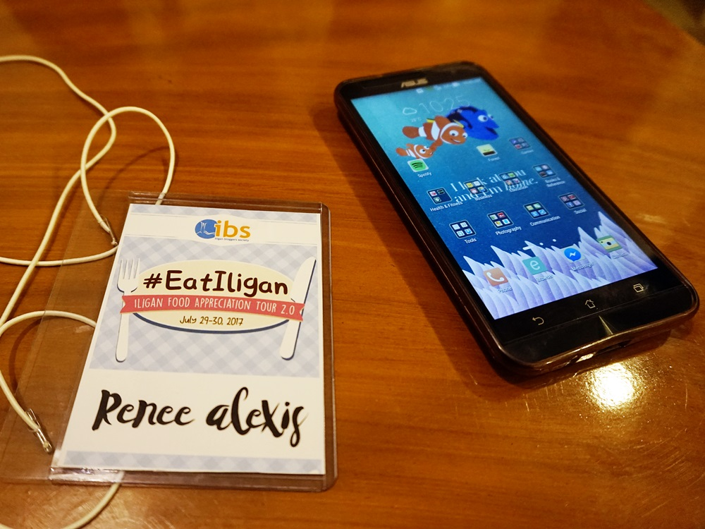#EatIligan ID and my phone
