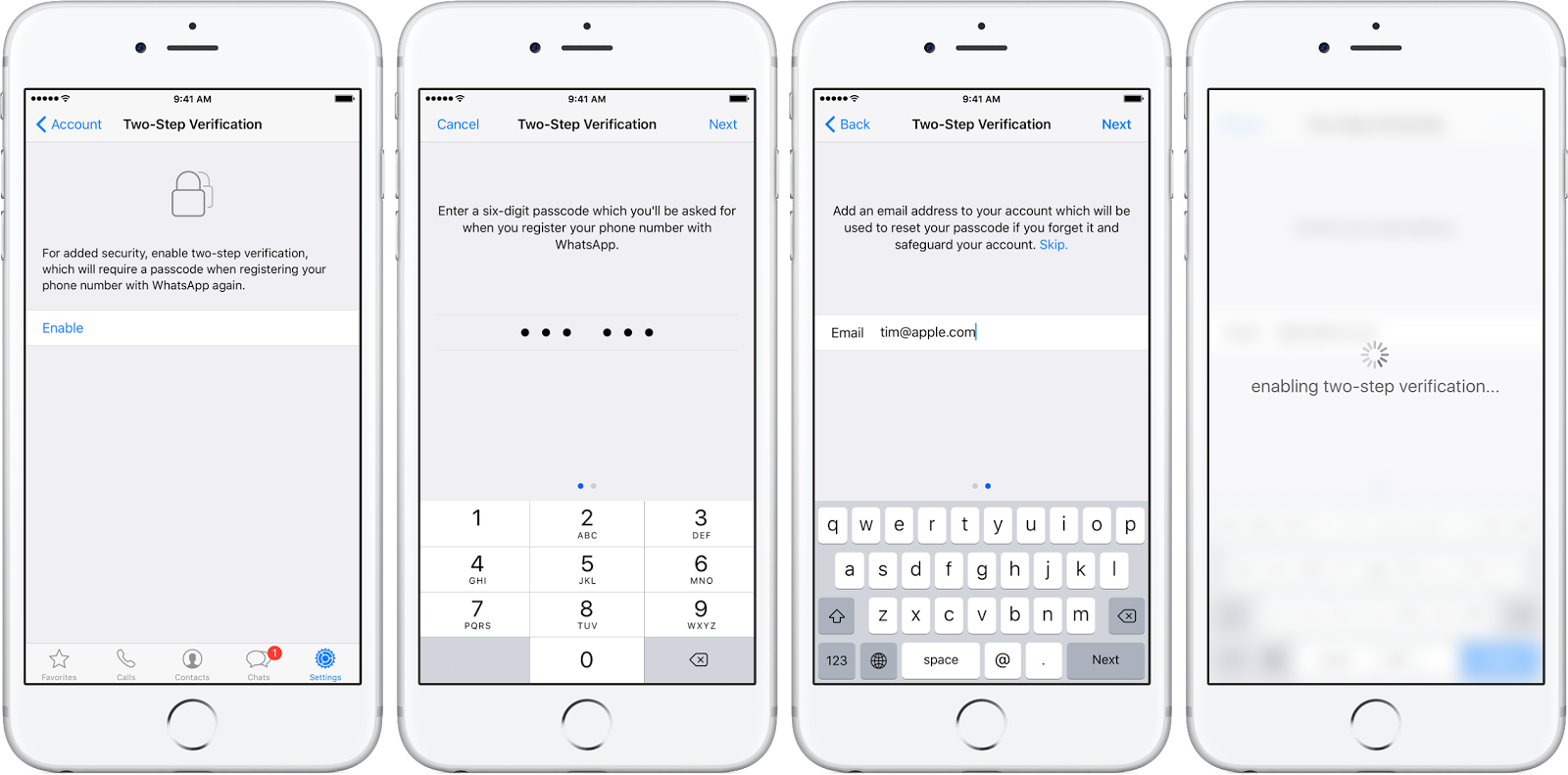 How to enable two-step verification on WhatsApp • JailBreak